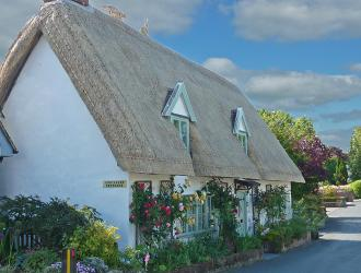 Dingle Dell another beautiful thatched cottage in our village